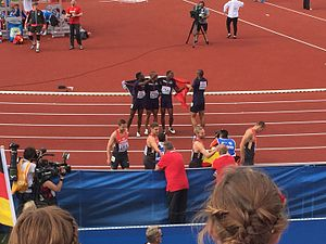 2016 European Athletics Championships – Men's 4 × 100 metres relay - Gold and silver medal winners