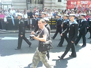 Europride - Naval personnel, London 2006
