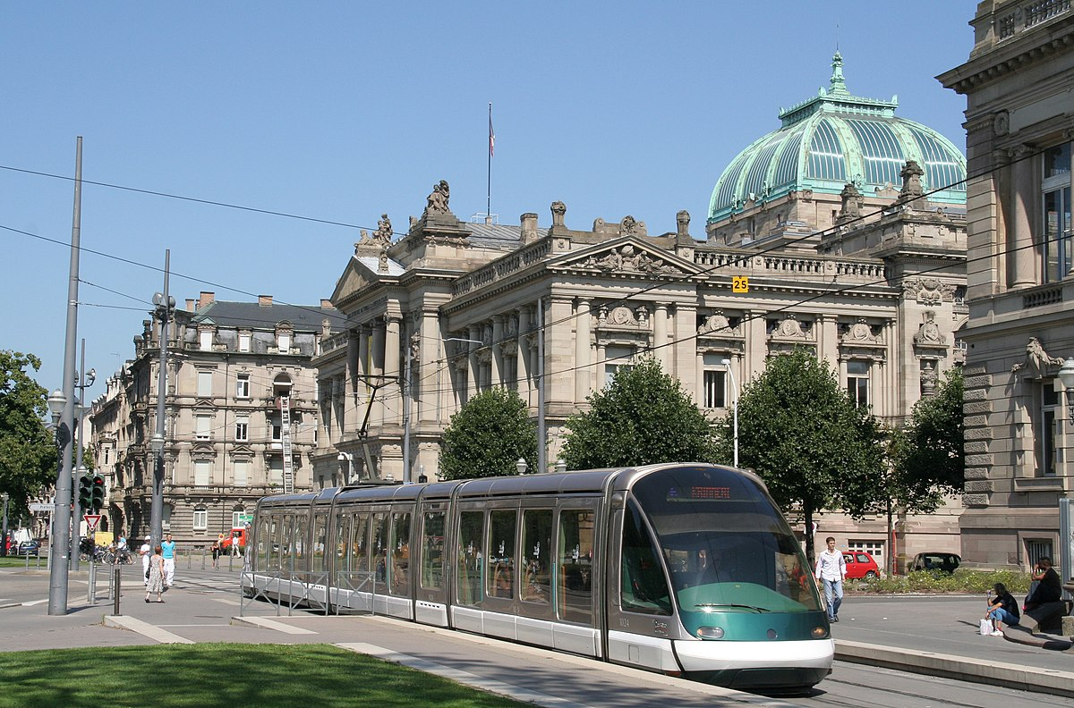 Ligne e du tramway de strasbourg wikip dia - Salon de la gastronomie strasbourg ...