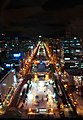 Evening view of Sapporo Odori Park - panoramio.jpg
