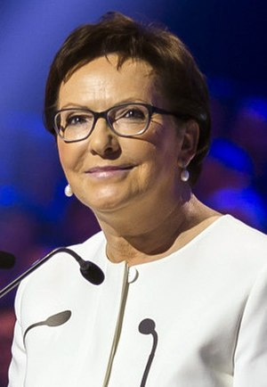 Polish parliamentary election, 2015 - Image: Ewa Kopacz Konwencja PO (cropped)