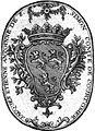 Ex-libris - Jacques Etienne Antoine de Saint-Simon-Courtomer, vicomte de Courtomer.jpg