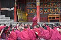 Examination of monks, Tashilhunpo Monastery, Shigatse, Tibet (11).jpg