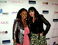 Executive Producer Sylfronia King with Platinum Selling Artist Arika Kane.JPG