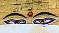 Eye of Buddha - Swayambhunath, Nepal.jpg