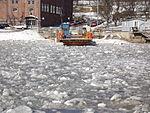 Förin stoppad av is mars 2013, förifrån.JPG