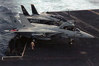 Carrier Air Wing Eight - Tomcats of VF-41 and VF-84 during Operation Eagle Claw in 1980