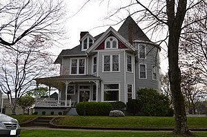 National Register of Historic Places listings in Lawrence County, Ohio - Image: F.W. Erlich House