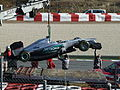F1 2012 Barcelona test - Mercedes car.jpg