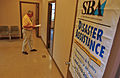 FEMA - 33006 - SBA representative walking into an office in Ohio.jpg