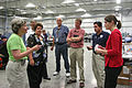 FEMA - 36570 - Congressional staff meets in a FEMA Disaster Recovery Center in Iowa.jpg