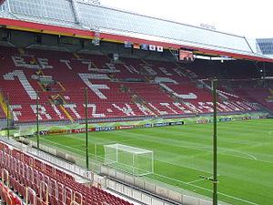 Kaiserslautern - Fritz Walter Stadion, the stadium of 2. Bundesliga club 1. FC Kaiserslautern