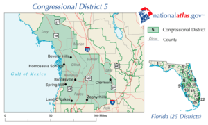 United States House of Representatives elections in Florida, 2010 - Image: FL05 109