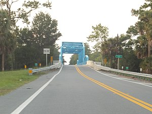 Yulee, Florida - St. Mary's River Bridge in Yulee