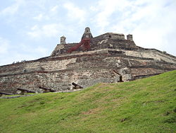 FORTRESS OF SAN FELIPE CARTAGENA