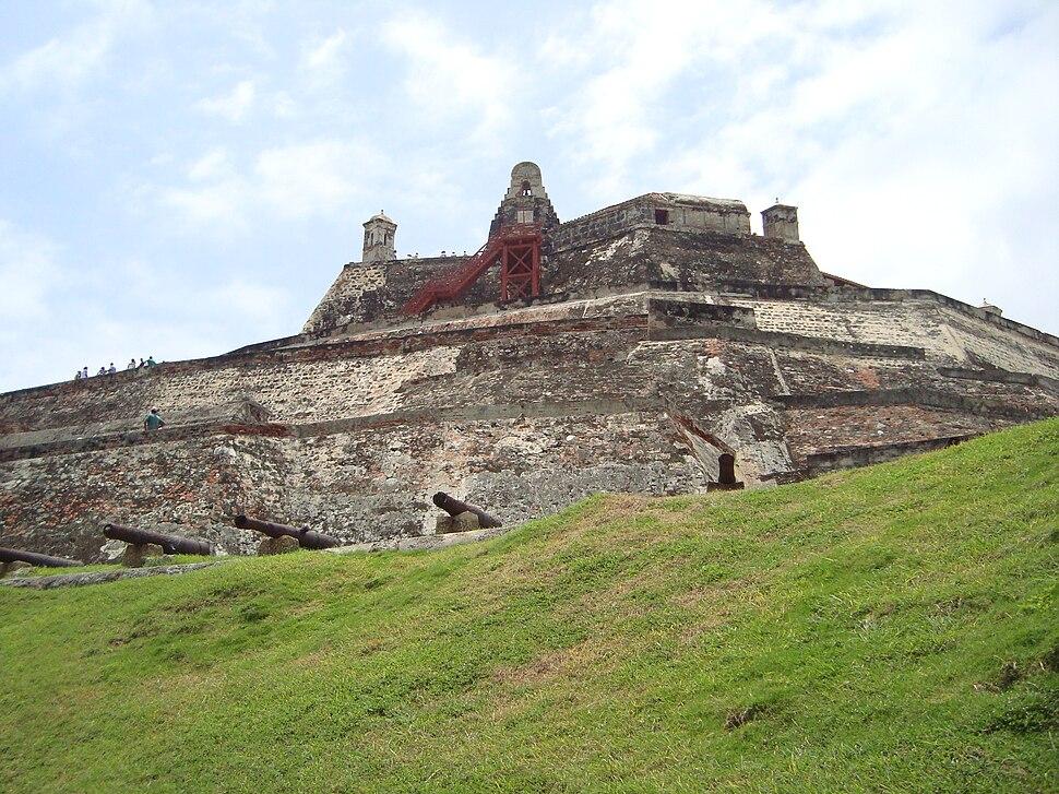 FORTRESS OF SAN FELIPE CARTAGENA