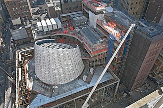 Fulton Center - February 2012 construction progress