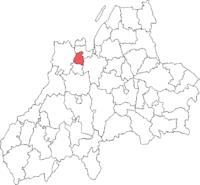 Norrahammars købstad i Jönköpings amt