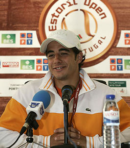 Gil op de Estoril Open in 2007