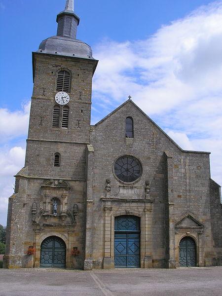 Église Saint-Maurice de Bussières-lès-Belmont
