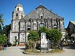 Fasado de la eklezio de Bolinao, Pangasinan.jpg