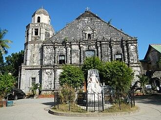 Saint James the Great Parish Church (Bolinao) - The façade of Bolinao Church in Pangasinan