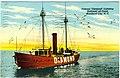 "Famous ""Diamond"" Lightship Stationed off Coast, Morehead City, N.C. (22679665328).jpg"
