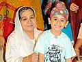 Farida Jalal at SAB TV launch 'Ammaji Ki Galli' 2.jpg