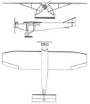 Farman F.190 3-view Les Ailes November 15,1928.png
