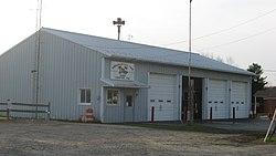 Farmington Township fire hall in Leeper