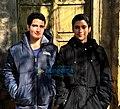 Fatima Sana Shaikh and Sanya Malhotra on the sets of Dangal.jpg
