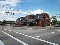Fayetteville Amtrak-ACL Station; Hay & Winslow.JPG