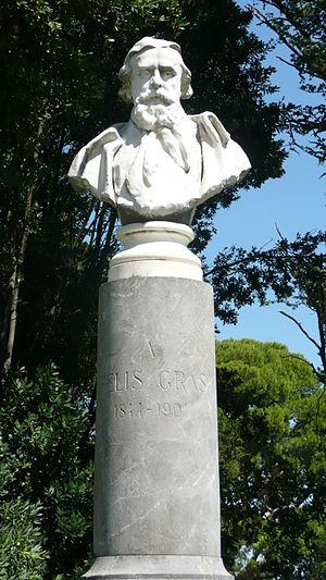 Felix Gras - Felix Gras statue in Avignon