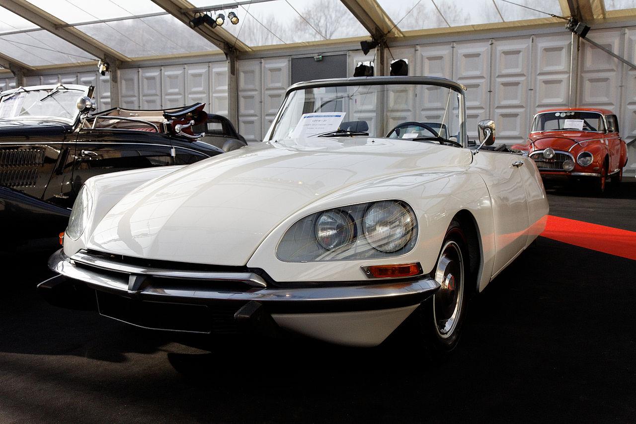file festival automobile international 2011 vente aux ench res citro n ds 21 cabriolet. Black Bedroom Furniture Sets. Home Design Ideas