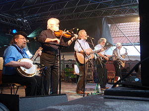 Barney McKenna - Barney McKenna performing with The Dubliners 2010 at a folk festival in Germany