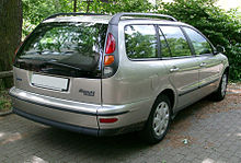 d5083934d3f Rear view of the Fiat Marea Weekend
