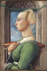 Filippo Lippi: Portrait of a Lady
