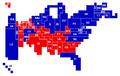 Final 2008 electoral cartogram.png