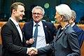 Finanzminister Gernot Blümel bei der Euro-Gruppe in Brüssel (49417808373).jpg