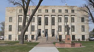 Garden City, Kansas - Finney County Courthouse (2015)