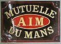 Fire mark for La Mutuelle du Mans Societe d'Assurance et de Reassurance a Primes Limitees in Le Mans, France.jpg