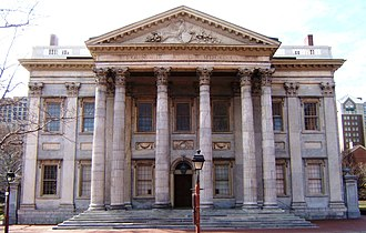 1797 in architecture - First Bank of the United States, Philadelphia