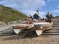 Fishing Boats At North Landing - geograph.org.uk - 557899.jpg