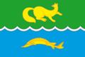 Flag of Vorogovsky (Krasnoyarsk krai).png