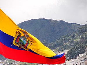 English: Flag of Ecuador Deutsch: Flagge Ecuadors