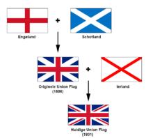 vlag groot brittanni 235