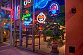 Flagstaff Uptown Billiards cafe lights window shot.jpg