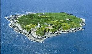 Flat Holm - Image: Flat Holm Aerial