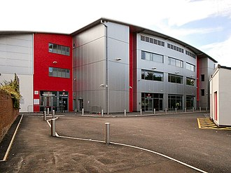 Fleetwood Town F.C. - Exterior of the main stand of Highbury Stadium