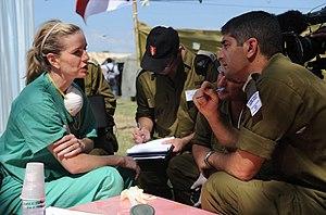 Jennifer Ashton - Image: Flickr Israel Defense Forces IDF Coordination with American Doctor